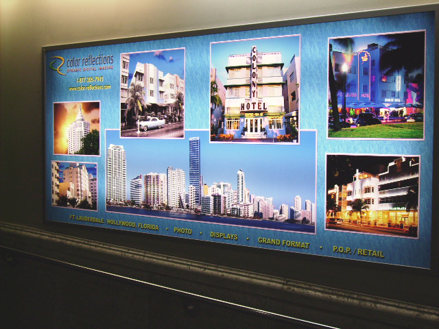 Duratrans Airport Graphics Florida Advertising Banners